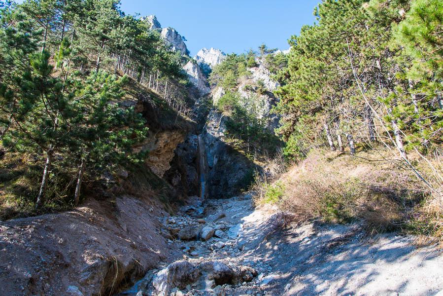 Wasserfall Wanderung Limone - cima Mughera - Baita Segala