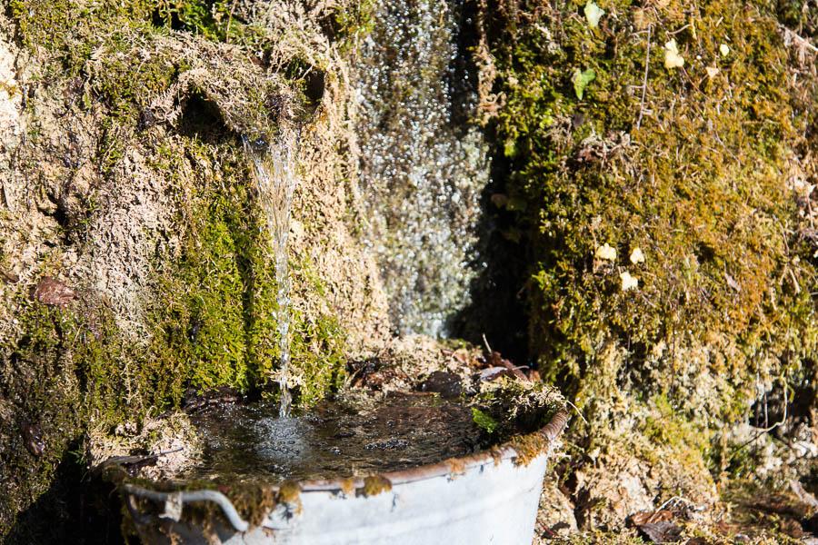 Wasserstelle Wanderung Limone - cima Mughera - Baita Segala