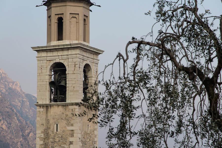 Glocken läuten Kirchturm Limone sul Garda