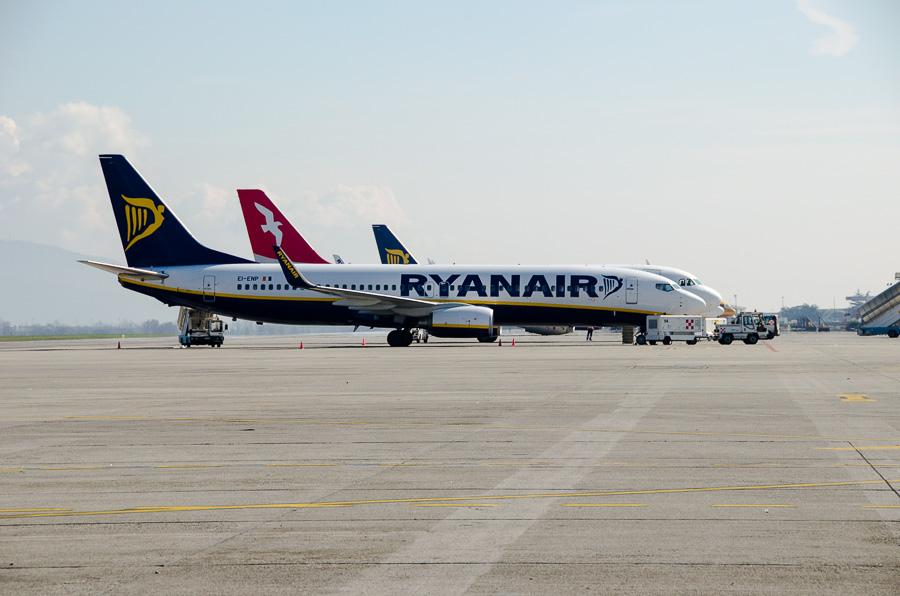 Ryanair in Brescia