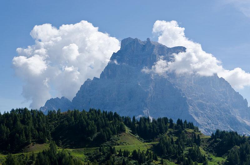 Dolomitengipfel Monte Pelmo, il Trono del Padreterno