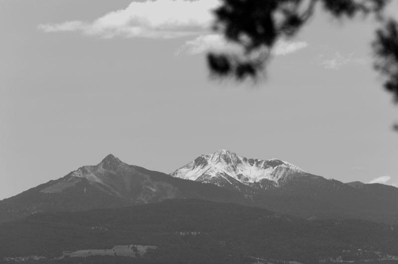 Dolomiten Weiß- und Schwarzhorn
