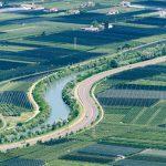 Etsch und Autobahn