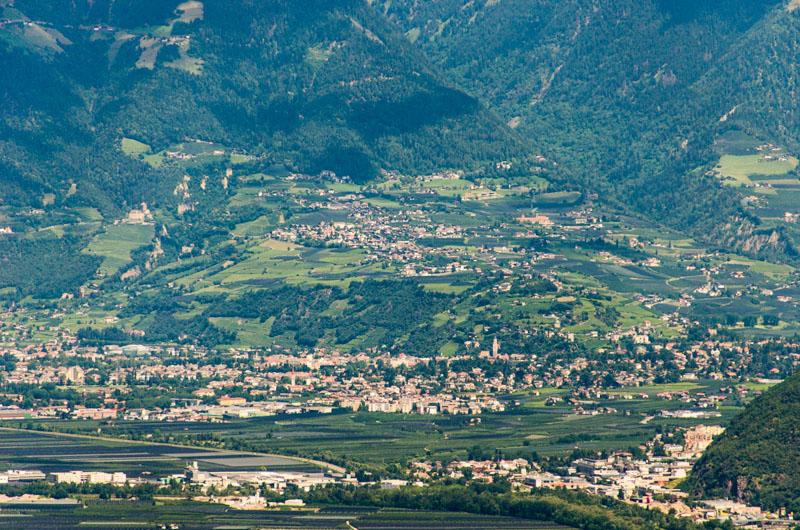 Meran und Dorf Tirol