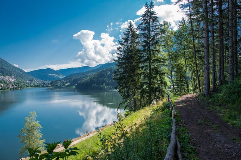 Altopiano di Pinè - Lago di Serraia