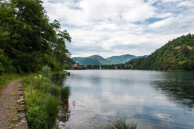 Lago di Lases im Cembratal