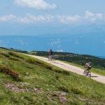 Mountainbiker am Rittner Horn