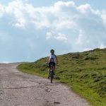 Montainbiker am Rittner Horn