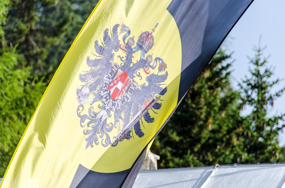k. u. k. Fahne der Monarchie Österreich Ungarn