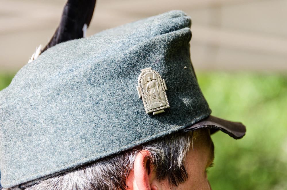 Kappenabzeichen Heeresgruppe GO Erzherzog EUGEN 1916