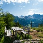 Ausblick ins Val San Nicolò