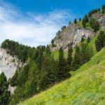Pfeiler Maerins im Val San Nicolo