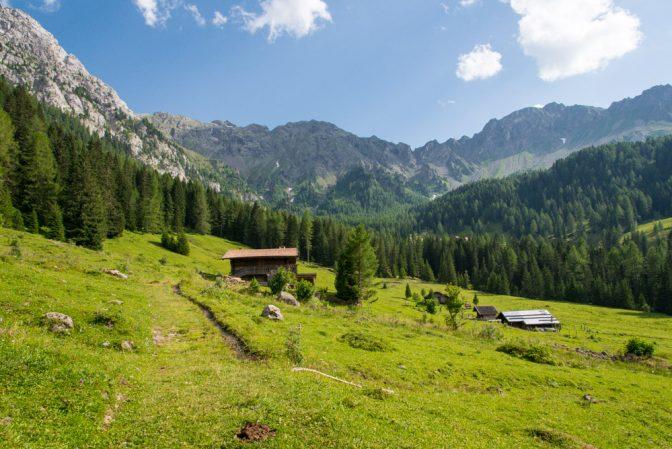Baita Monzoni im Valle dei Monzoni