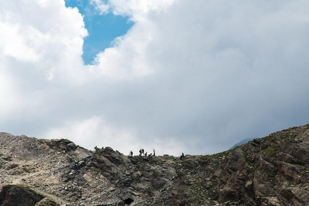Eisjöchl zwischen Pfossental und Pfelderer Tal