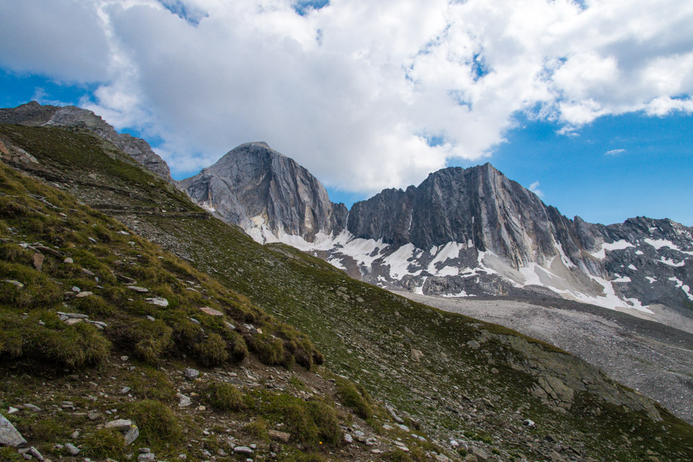 Gipfel Hohe Weiße