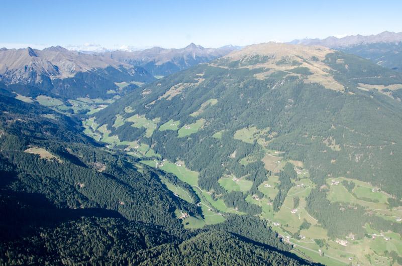 Dolomiten Rundflug-Sarntal