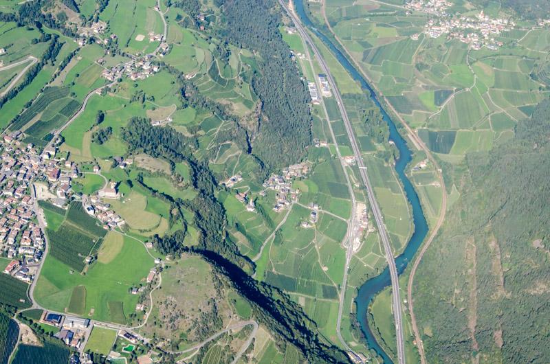 Dolomiten Rundflug-Eisacktal