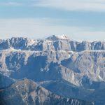 Dolomiten Rundflug-Sellastock mit Piz Boè