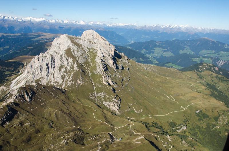 Dolomiten Rundflug-Peitlerkofel