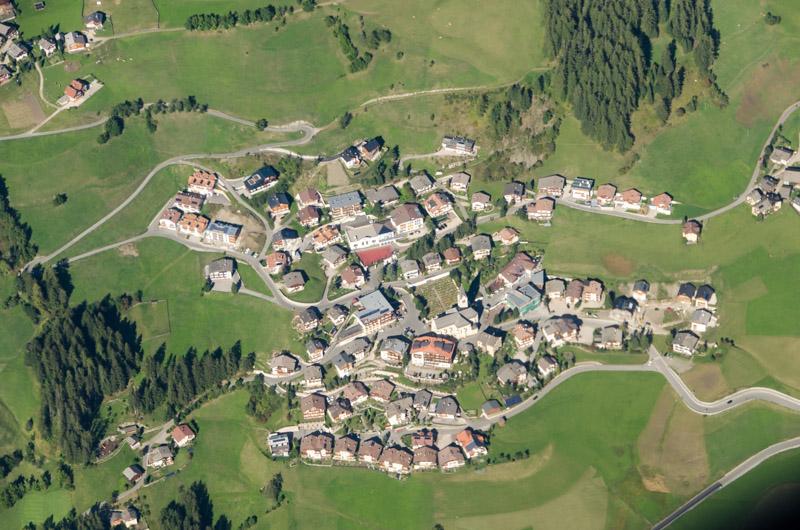 Dolomiten Rundflug-Gadertal