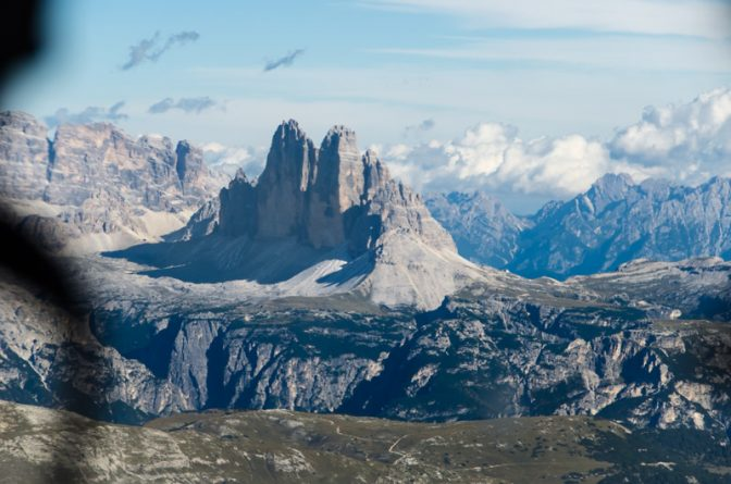 Dolomiten Rundflug - Die Drei Zinnen