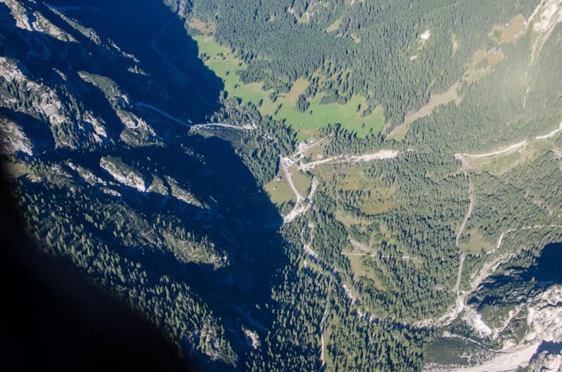 Dolomiten Rundflug-Innerfeldtal