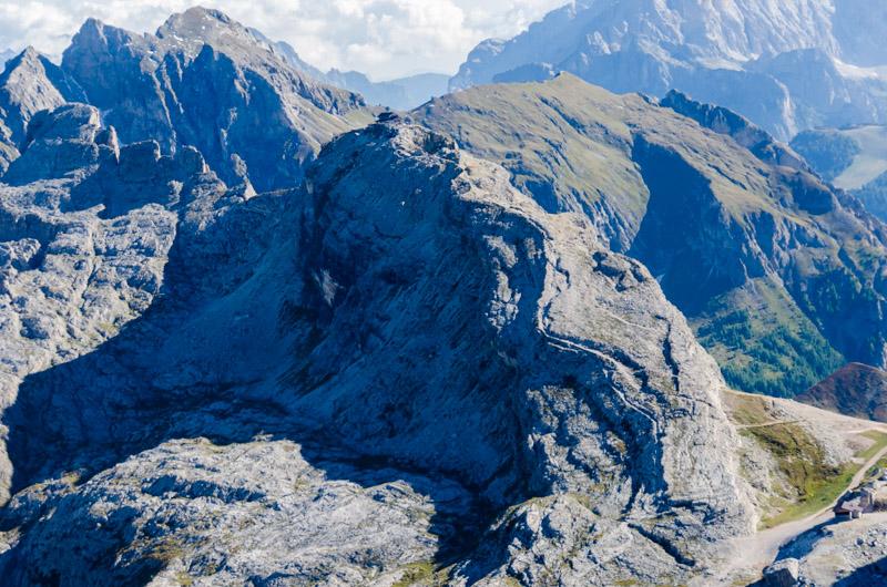 Dolomiten Rundflug-Monte Nuvolau