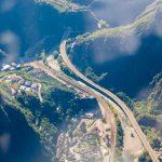 Dolomiten Rundflug-Autobahn