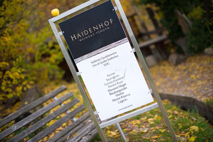 Weingut Tenuta Haidenhof am Marlinger Waalweg