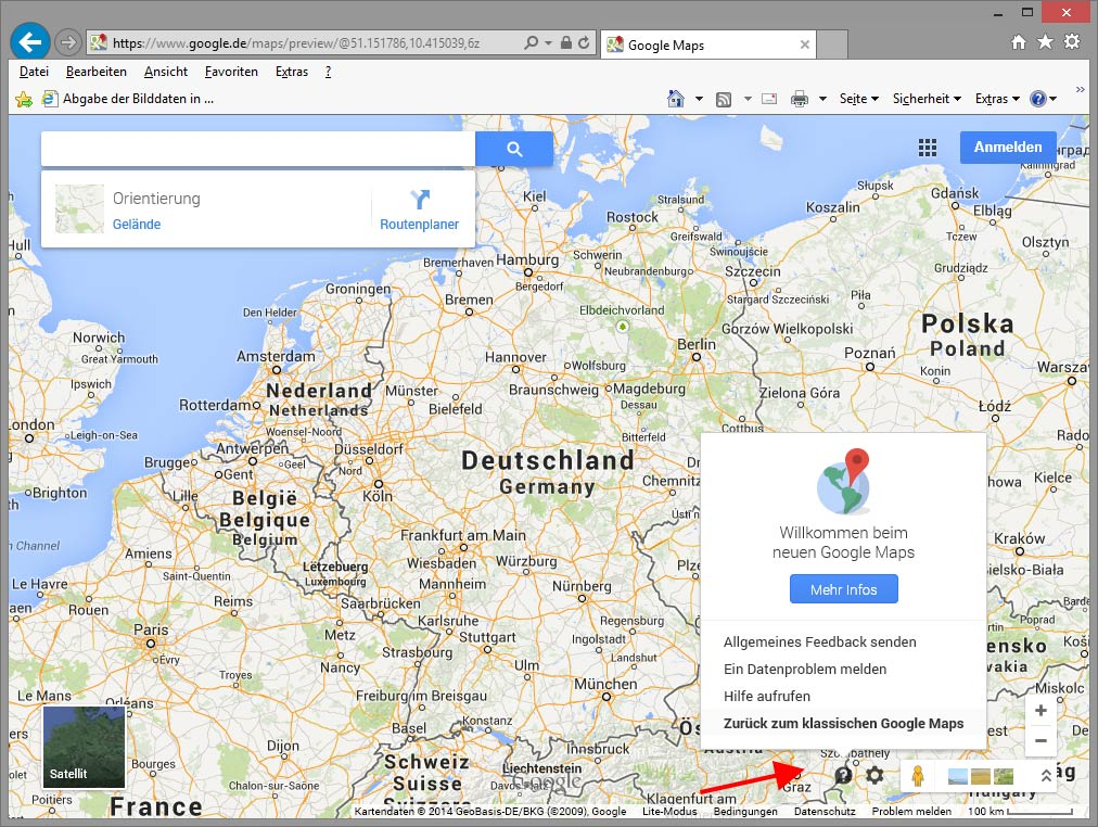 Neues Google Map