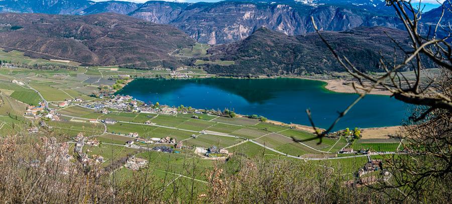 Kalterer See im Frühling