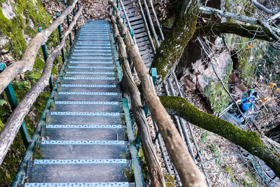 Wanderweg Rastenbachklamm in Kaltern
