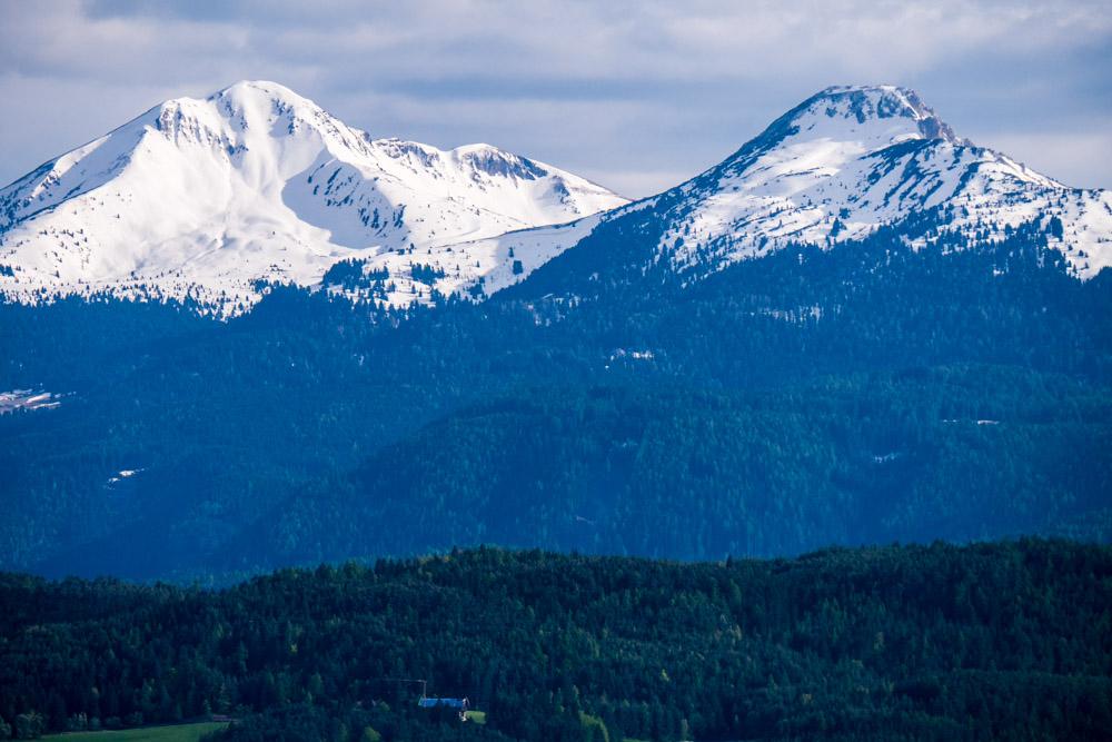 Weißhorn und Schwarzhorn
