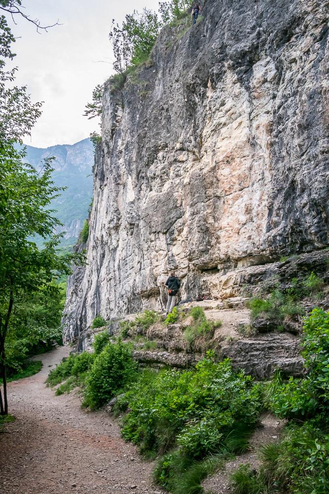 Kletterwand Hintersegg - Graun