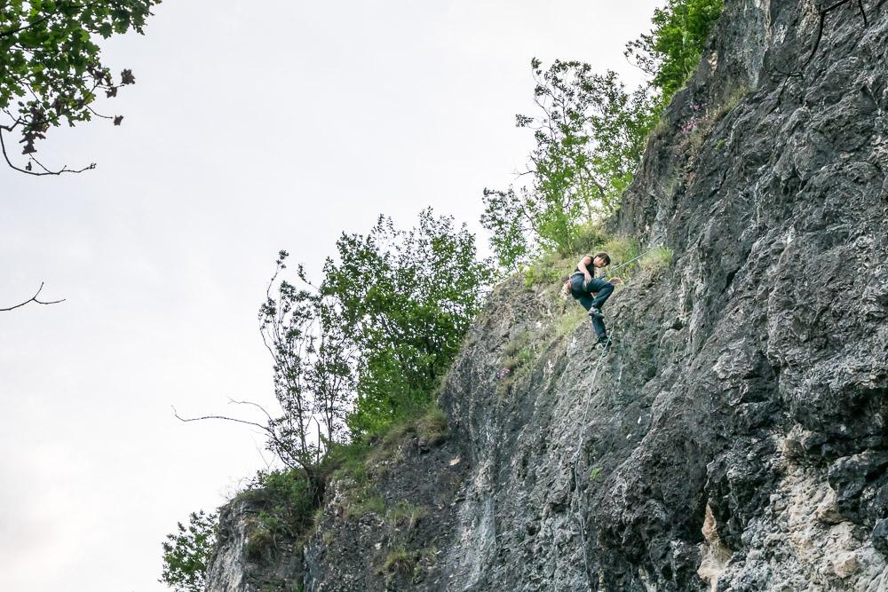 Kletterwand Marderwand