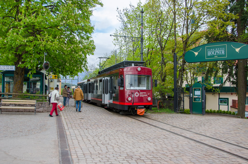 Rittnerbahn in Oberbozen