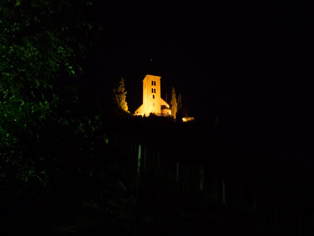 St. Jakob Kirchlein bei Nacht