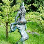 Adam und Eva in den Gärten von Schloss Trauttmansdorff