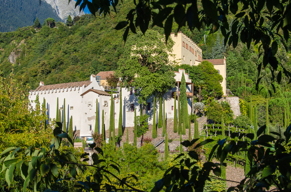 Schloss Trauttmansdorff in Meran