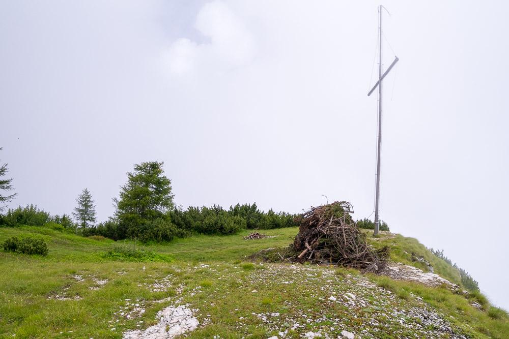 Gipfelkreuz am Schwarzer Kopf