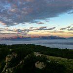 Sonnenaufgang Brenta Dolomiten