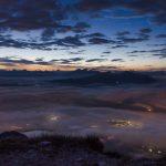 Ausblick Roen vor Sonnenaufgang