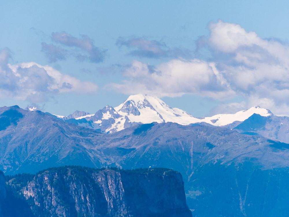 Penegal mit Ötztaler Gletscher