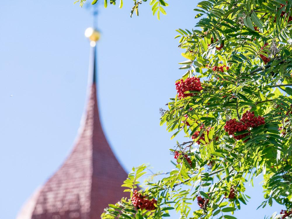 Kirchturmdach Maria Weissenstein