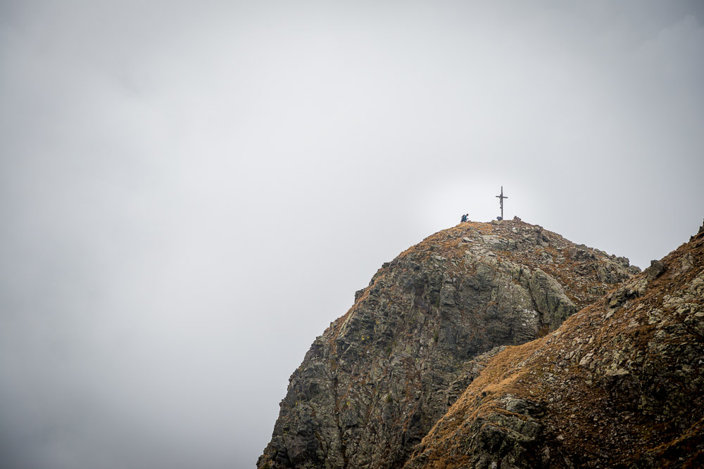 Wandern zum Latzfonser Kreuz