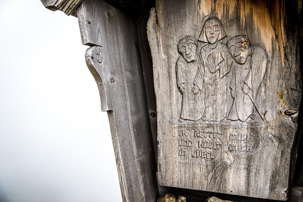 Wegkreuz am Latzfonser Kreuz