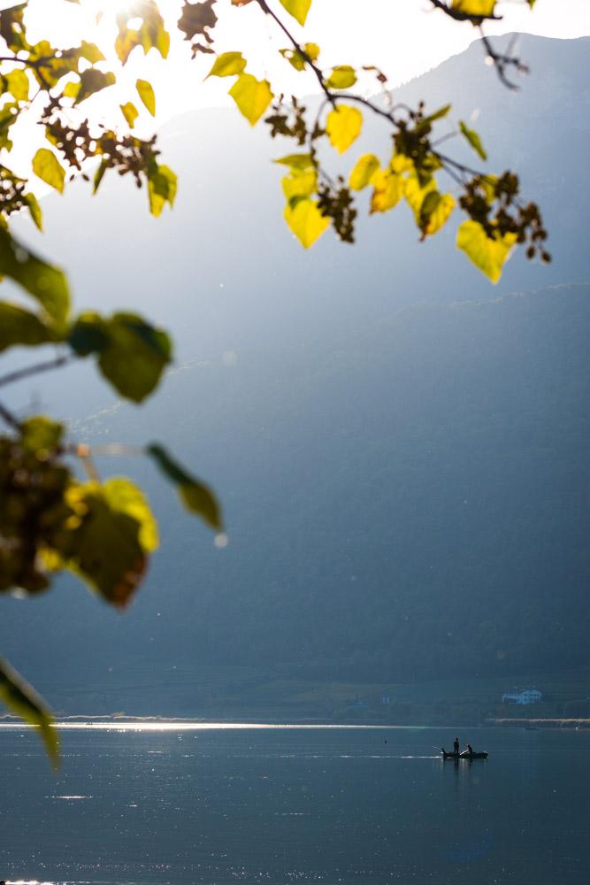 Fischer auf dem Kalterer See