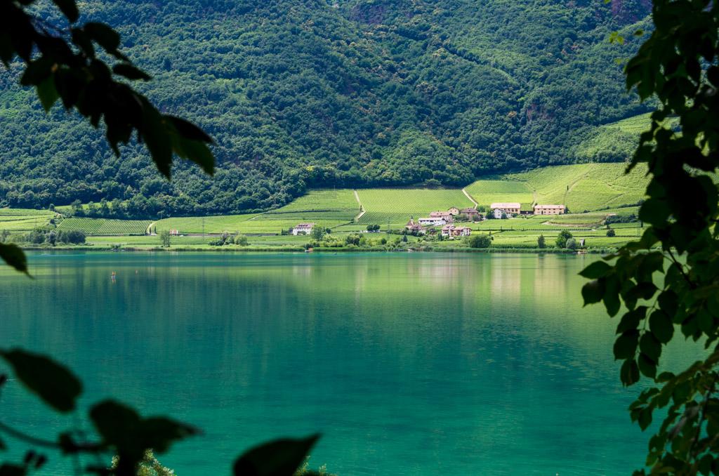 Kalterer See Blick nach St. Josef am See