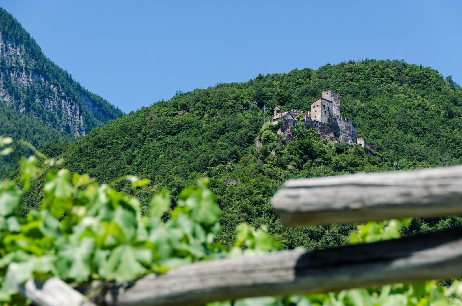 Burg Hocheppan im Drei Burgendreieck Eappan
