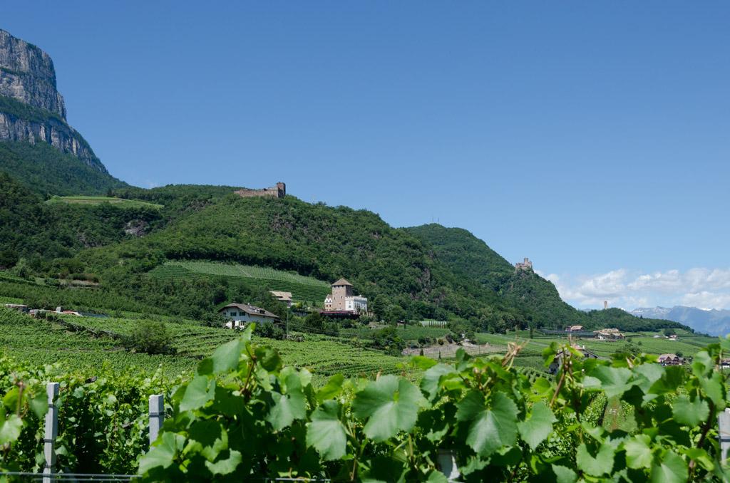 Drei Burgen, Schloss Korb, Boymont, Burg Hocheppan